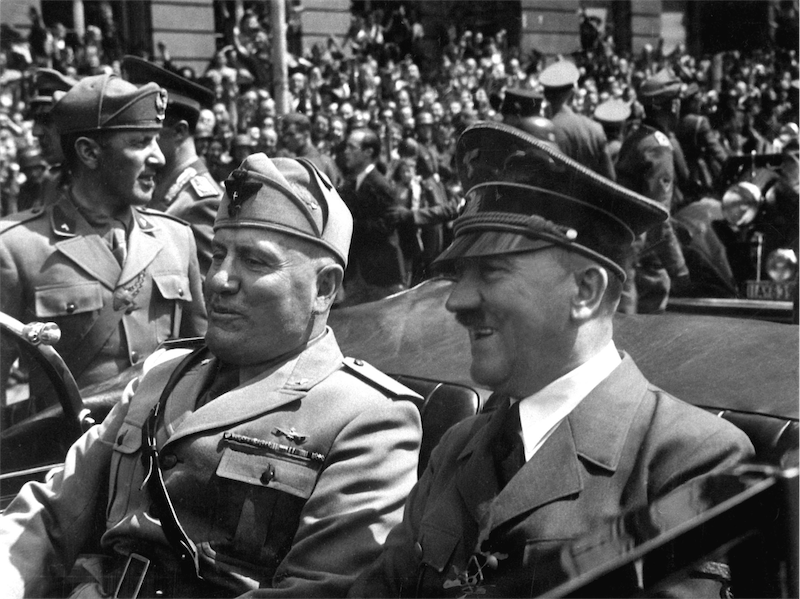 Adolf-Hitler-Benito-Mussolini-Munich-Germany-June-1940