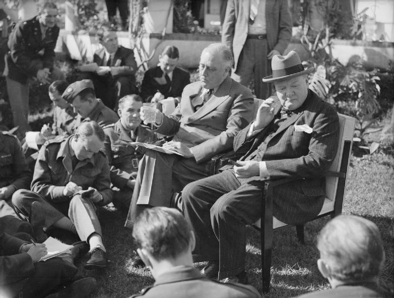 President_Roosevelt_and_Prime_Minister_Churchill_at_the_Allied_Conference_in_Casablanca,_January_1943_A14152