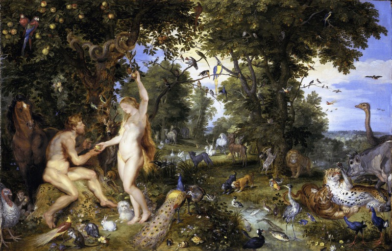 s_Brueghel Jan__de_Oude_en_Peter_Paul_Rubens - Adam and Eve