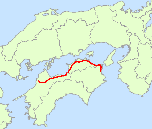 Japan_National_Route_11_Map
